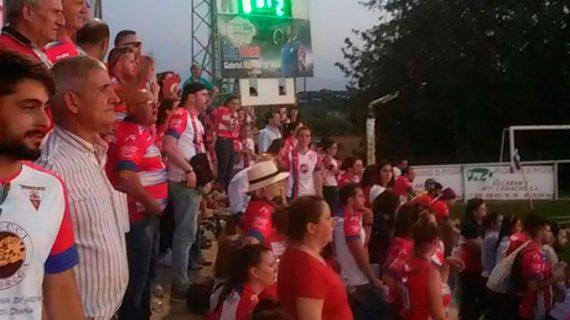 El Aroche, con pie y medio en la División de Honor Andaluza tras ganar 0-3 en Bollullos