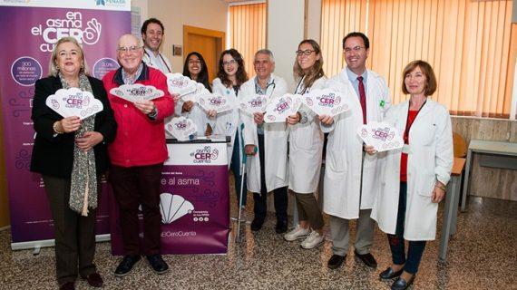 El Hospital Juan Ramón Jiménez conciencia a la población con motivo del Día Mundial del Asma
