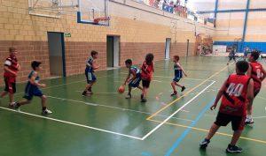 El baloncesto ha sido el gran protagonista en el Complejo Deportivo de Cartaya.
