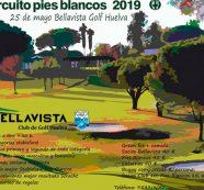 El Club de Golf Bellavista alberga este próximo sábado el Circuito Pies Blancos 2019