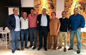 Nueva junta directiva del CDB Enrique Benítez de baloncesto.