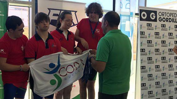Un total de 19 medallas fue la recompensa del CODA en el XV Campeonato de Andalucía de Natación Adaptada Open