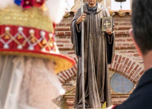 Exposición de la romería de San Benito Abad en el Centro Cultural de Caja Rural del Sur
