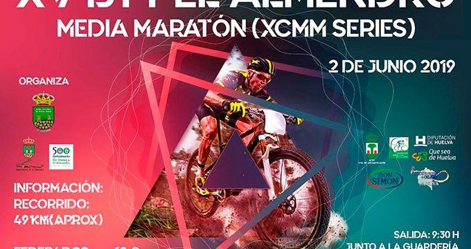 La XV Ruta BTT El Almendro del 2 de junio, última cita de las Huelva Series XCMM antes el parón del verano