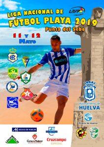 Cartel anunciador de la competición, que arranque este fin de semana en Huelva.