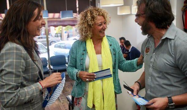 """Pilar Marín y Loles López apuestan por bajar impuestos y mejorar servicios para """"reiniciar Isla Chica"""""""