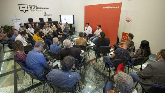 """Gabriel Cruz apuesta por hacer de Huelva """"una ciudad cultural de primer nivel, de influencia nacional e internacional"""""""