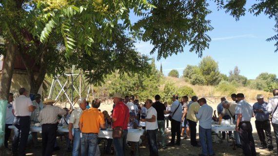 El Parque Moret acoge el Encuentro Provincial de Hortelanos con 70 participantes