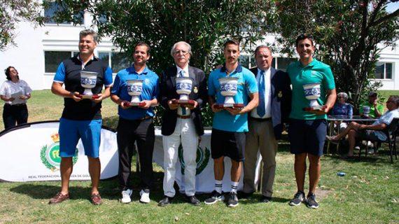 El Club Bellavista se lleva la victoria en el Campeonato de Andalucía Interclubes Masculino de golf del Parador