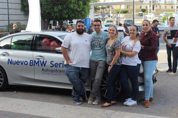 Alta participación de los onubenses en el Escape Room de BMW celebrado en Huelva