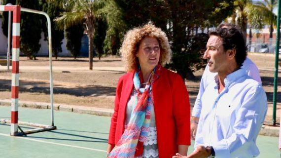 Pilar Marín apuesta por impulsar el deporte base y un complejo deportivo junto al Paseo de la Ría