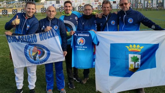 Los arqueros del Asirio demostraron su progresión en el Campeonato de España de Tiro con Arco Tradicional