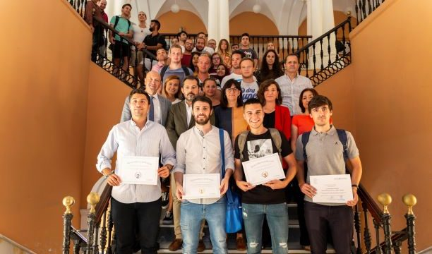 Entrega de premios de la XI Edición del Juego de Bolsa de la UHU y Renta 4