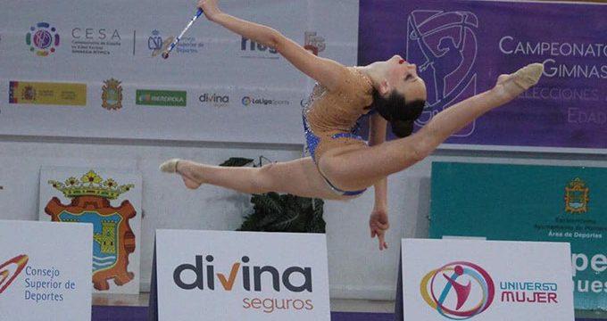 Marta Fernández debutó en el Campeonato de España de Selecciones Autonómicas