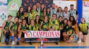Gran triunfo del Clínica Dental El Faro Mazagón en el Provincial Infantil Femenino de baloncesto. / Foto: @fabhuelva.