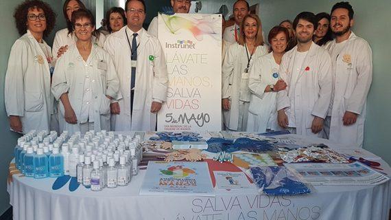 El Hospital Juan Ramón Jiménez celebra el Día Mundial de la Higiene de Manos con acciones divulgativas
