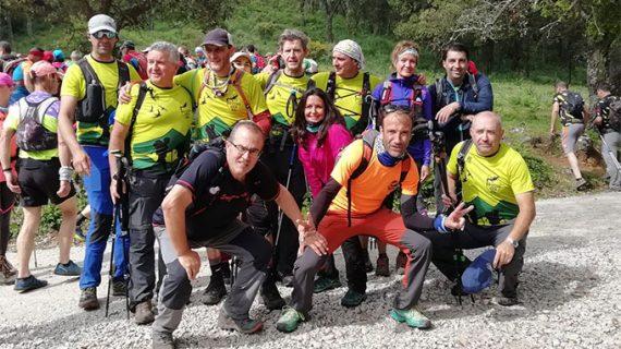 El Grupo de Montaña 'Noveno Grado' sigue coliderando la Copa de Andalucía de Travesías de Resistencia