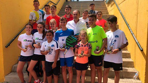 El Club de Pádel La Volea de Aljaraque, escenario de la cuarta prueba del Circuito de Menores de Huelva 2019