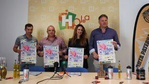 Un momento de la presentación de la XIX Ruta BTT Villa de Paterna del Campo que se disputará en octubre.