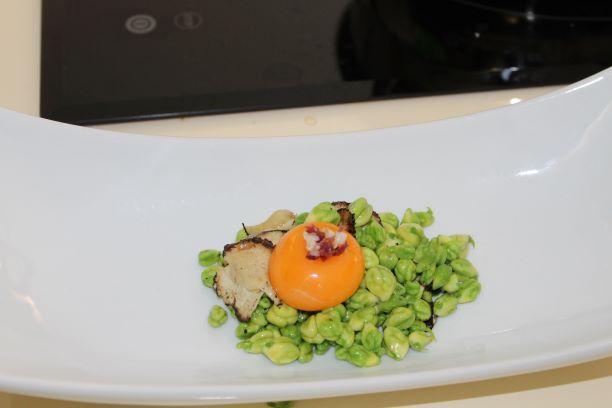 El garbanzo verde de Escacena se convierte en un producto gourmet para restaurantes 'Estrella Michelín'