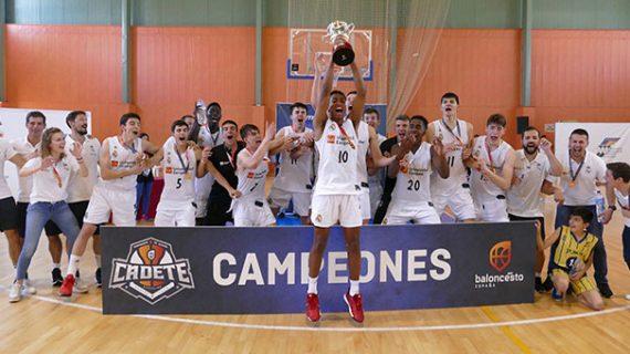 Aljaraque corona al Real Madrid como campeón de España Cadete de baloncesto