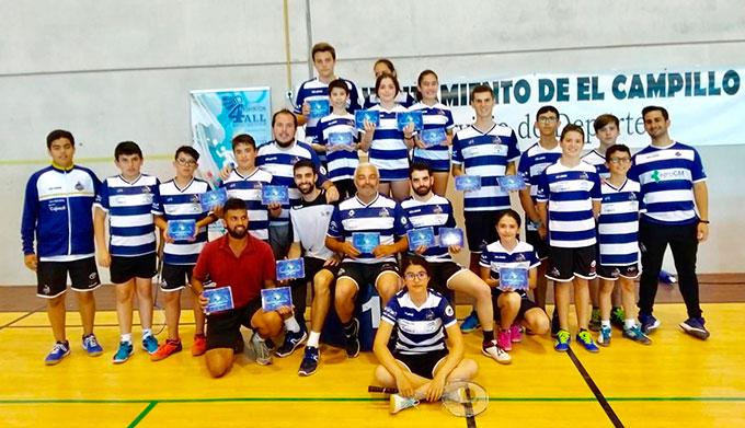 Componentes del Recre IES La Orden en el torneo que tuvo como escenario El Campillo.