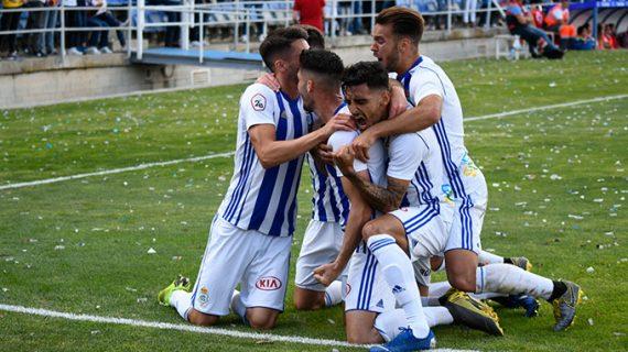 El Recre se jugará el ascenso en primera instancia con Fuenlabrada, Racing de Santander o Atlético Baleares