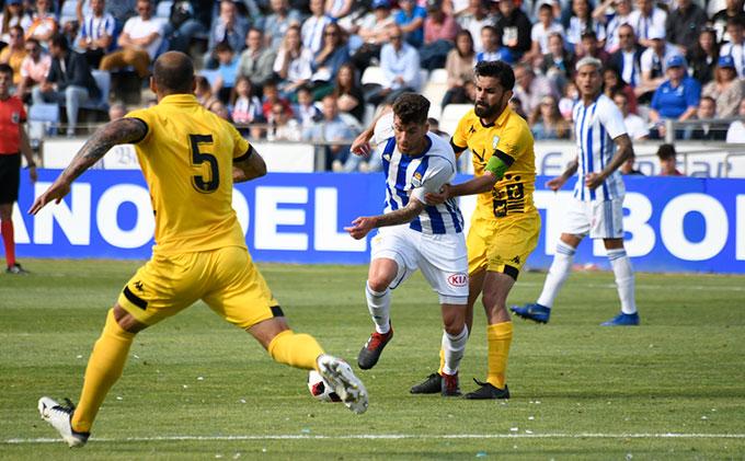 Hay confianza en el Recre de poder remontar la derrota mínima sufrida en Miranda de Ebro.