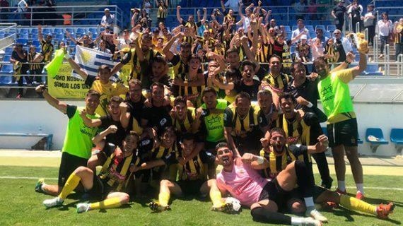 El San Roque obra el milagro de ganar en Arcos (0-1) y seguirá un año más en Tercera División