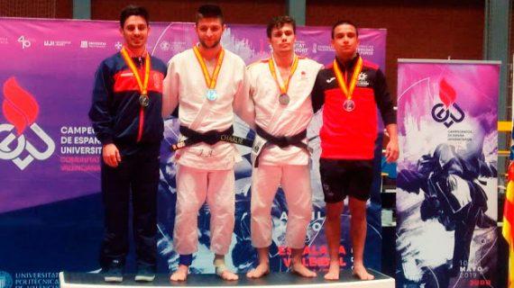 Sensacional medalla de plata para Sandro Martín en el Campeonato de España Universitario de Judo