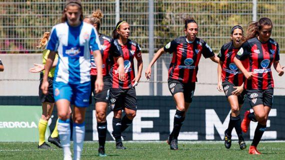 El Sporting Puerto de Huelva asegura su continuidad en la Liga Iberdrola con mucho sufrimiento