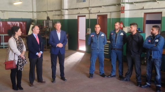 Inicio del Taller de Empleo 'Metal III' en Palos de la Frontera