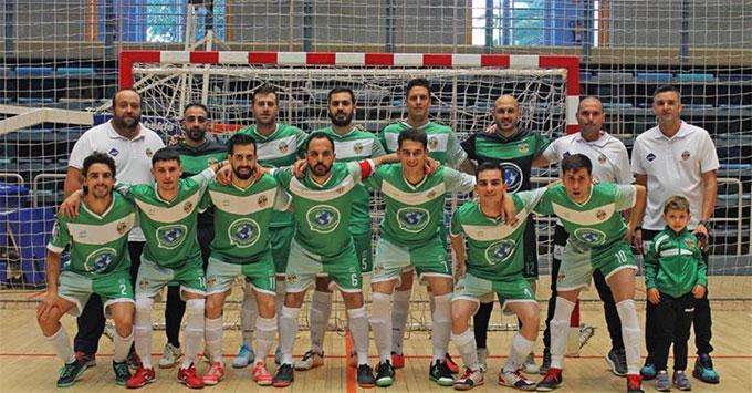 Un empate separa al Trigueros FS del ascenso a la Tercera División de fútbol sala