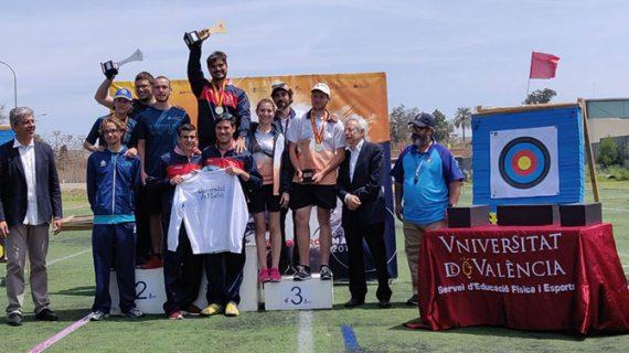 Los 'asirios' dan a la UHU un gran doblete en el Campeonato de España Universitario de Tiro con Arco