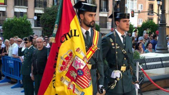 Huelva conmemora el 175º aniversario de la fundación de la Guardia Civil en la Plaza de la Merced