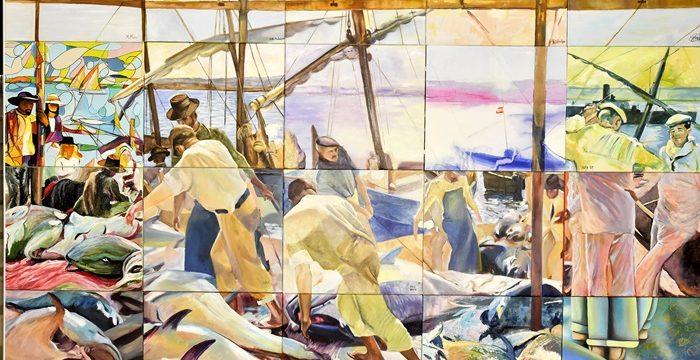 El óleo en honor a Ayamonte 'La pesca del atún' de Sorolla cumple su primer centenario