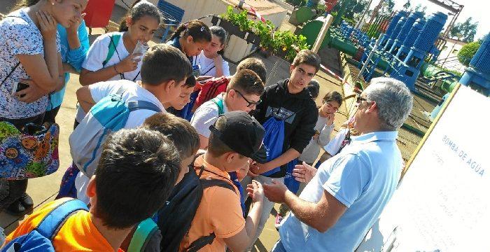 El programa educativo Aquafresi de la CRPF, finaliza con la visita de los escolares en sus instalaciones