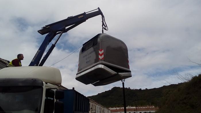 Giahsa inicia el despliegue del nuevo sistema de recogida de residuos para toda la Sierra
