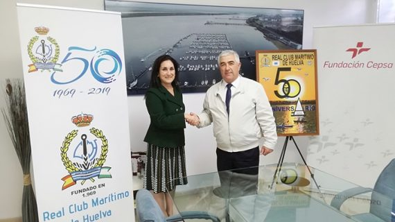 Fundación Cepsa apoya al Real Club Marítimo de Huelva en 2019, año de su cincuentenario