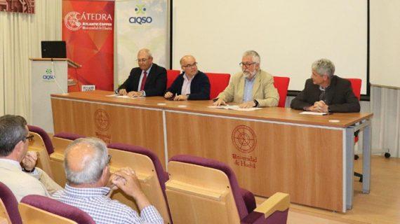 Arranca en la UHU el curso de la Cátedra Atlantic Copper 'Historia de la Metalurgia del Cobre en Huelva'