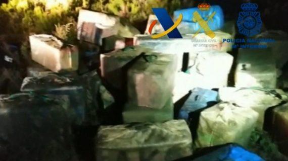 Desarticulada en Huelva una organización criminal dedicada al narcotráfico de hachís desde el Norte de África