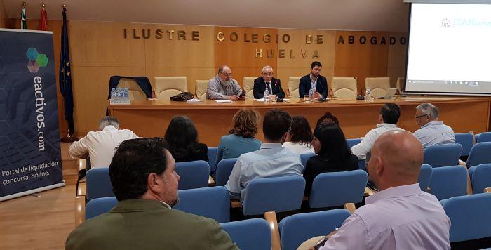 Huelva acoge un encuentro sobre derecho concursal