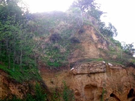 Descubren un posible túnel que podría conectar el Cabezo de la Joya con el Cabezo de Mundaka
