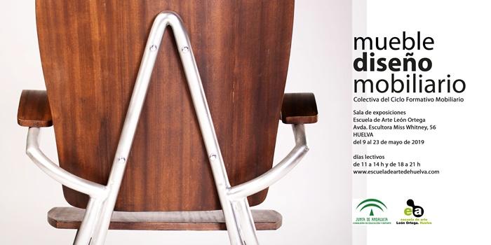 La Escuela de Arte León Ortega presenta la exposición 'Mueble, Diseño, Mobiliario'