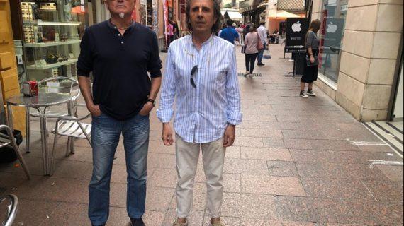 Los onubenses Juan Carlos Romero y Pepe Roca prestan su música al libro-disco 'Río de rostros'