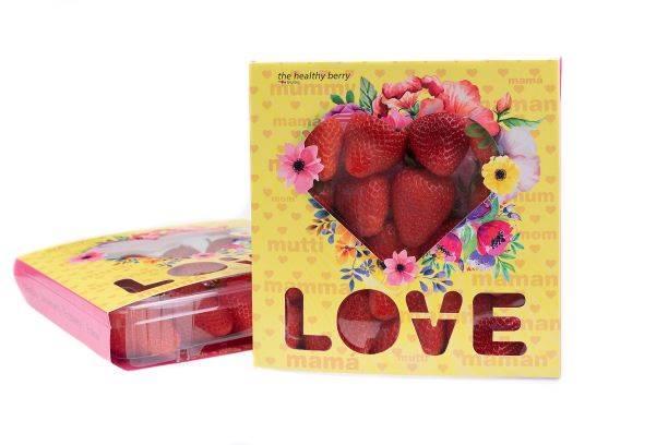 Grufesa lanza al mercado un packaging especial para celebrar con fresas el Día de la Madre
