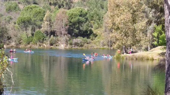 Senderismo y Kayak para adultos en Paterna del Campo