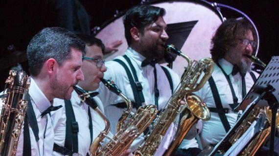 Onubasax Orchestra, una reunión de amantes del saxofón que ofrece un paseo por la historia de la música