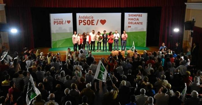 Susana Díaz visita el Andévalo y defiende la reivindicación de Tharsis de ser un municipio independiente