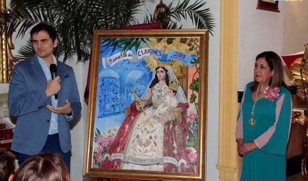Beas presenta al pregonero yel cartel anunciador de la Romería de Clarines 2019